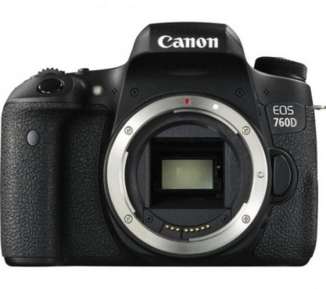 Фотоапарат Canon EOS 760D+обектив Canon 50mm 1.8 STM