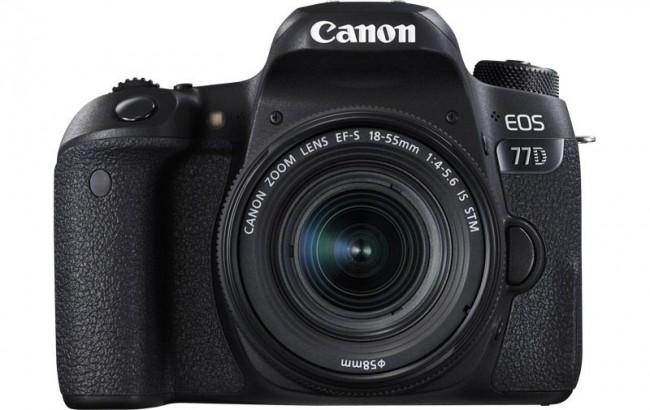 Фотоапарат Canon EOS 77D+обектив Canon 18-55 IS STM