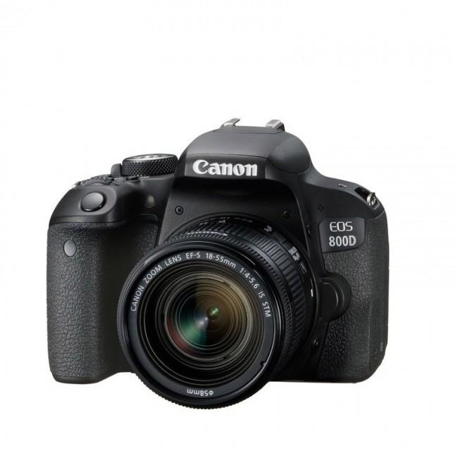Фотоапарат Canon EOS 800D+обектив CANON 18-55 IS STM