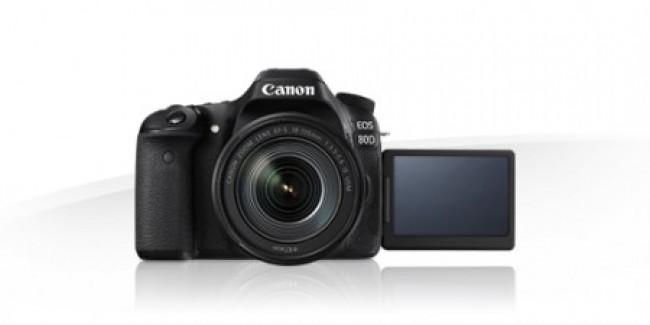 Фотоапарат Canon EOS 80D+обектив Canon 18-55 IS STM