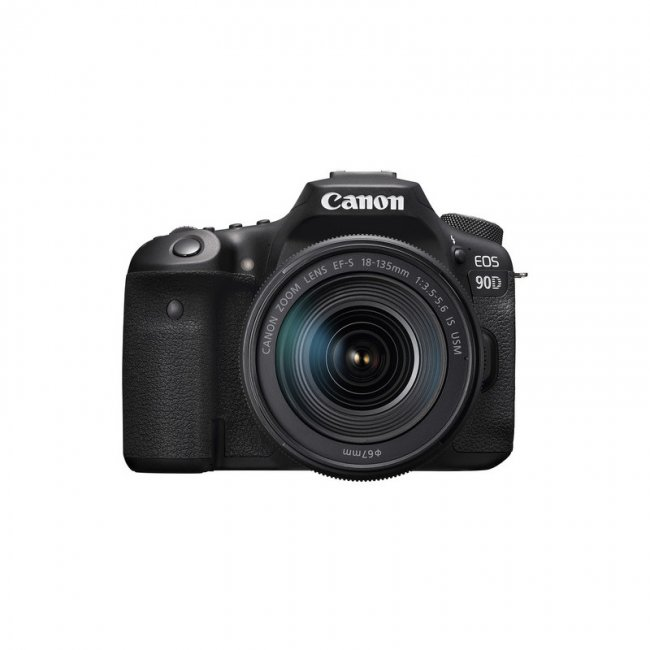 Фотоапарат Canon EOS 90D + обектив Canon EF-S 18-135mm IS Nano