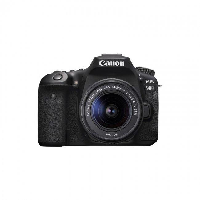Фотоапарат Canon EOS 90D + обектив Canon EF-S 18-55mm IS STM