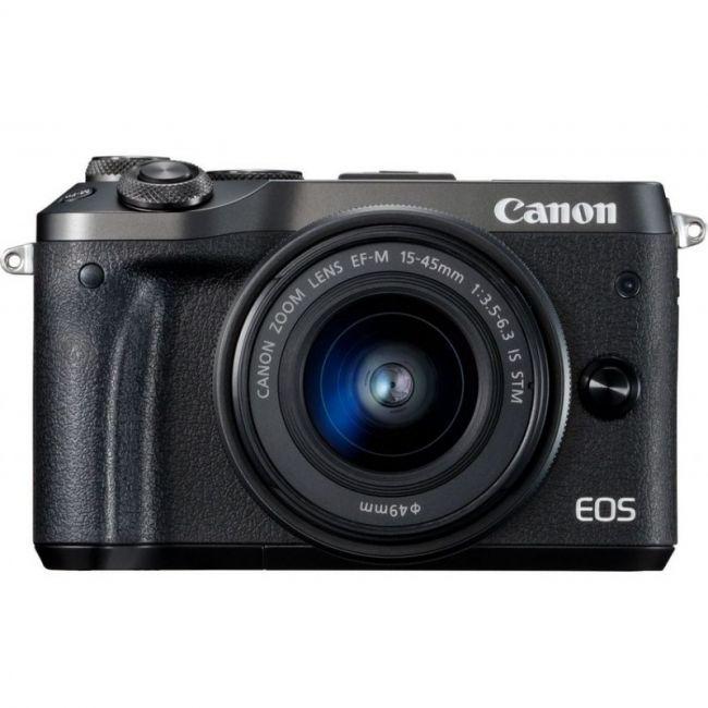 Фотоапарат Canon EOS M6+ обектив Canon EF-M 15-45mm f/3.5-6.3 IS STM
