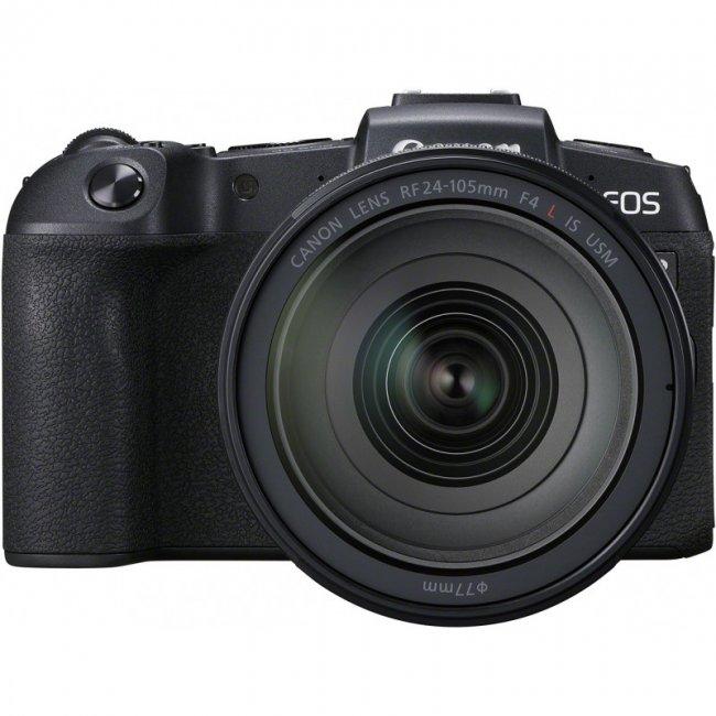 Фотоапарат Canon EOS RP + обектив Canon RF 24-105mm f/4L IS USM+адаптер
