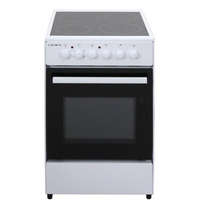 Готварска печка Crown CEC-5060V W