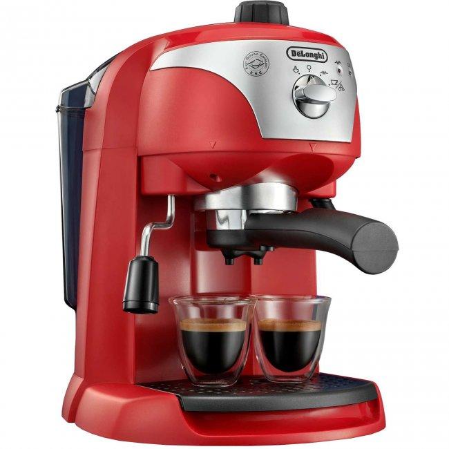 Кафемашина DeLonghi EC221.R