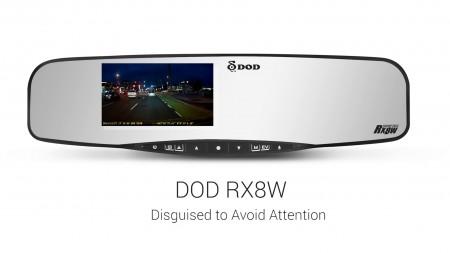 Видеорегистратор DOD RX8W