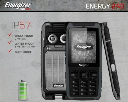 Цена на Energizer Energy 240 Dual SIM