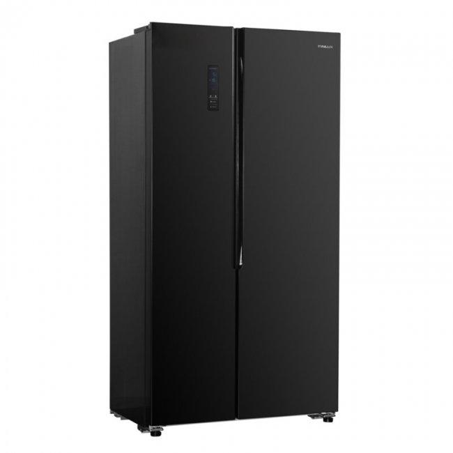 Хладилник Finlux SBS-440BL Glass
