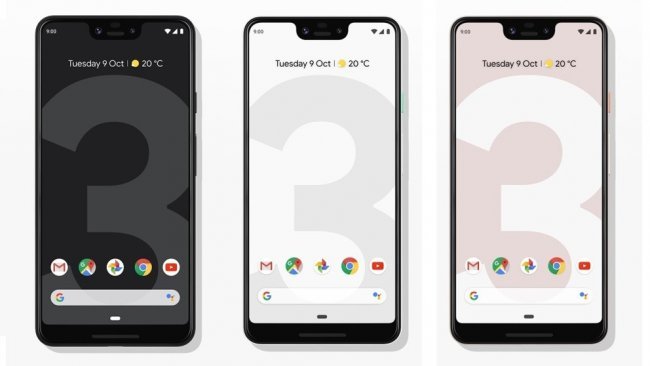 Цена Google Pixel 3 XL