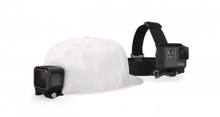 Аксесоар за екшън камера GoPro Head Strap + QuickClip