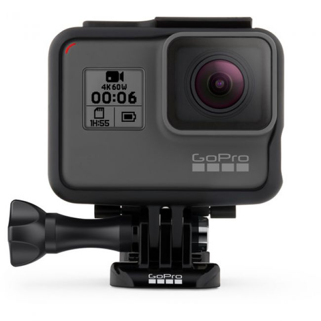 Камера за Екстремни Спортове GoPro HERO 6 BLACK + MMC 16GB (TS16GUSDU1)
