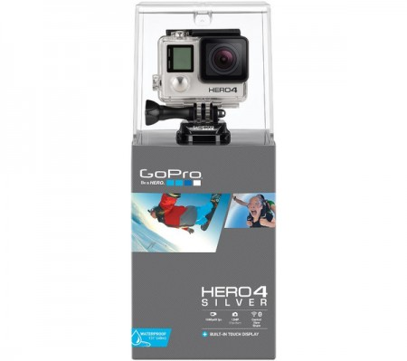 Камера за Екстремни Спортове GoPro HERO4 Silver Edition