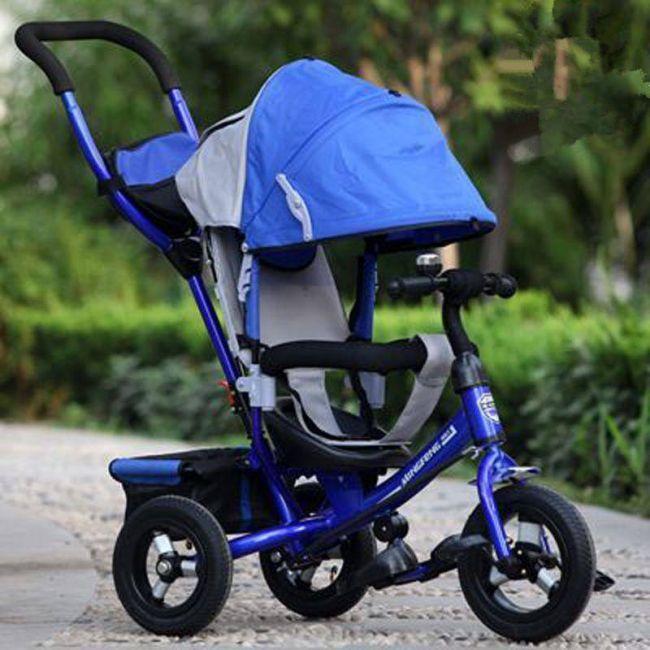 HoverBoard Детска Триколка Синя