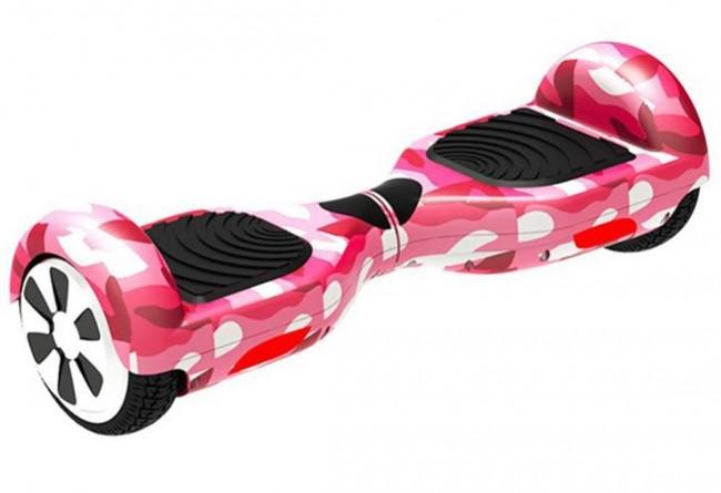 HoverBoard Ховърборд 6.5 инча Pink Camo