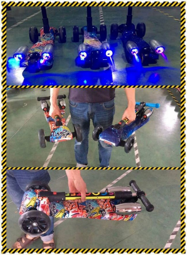 HoverBoard Тротинетка Ракета Синя