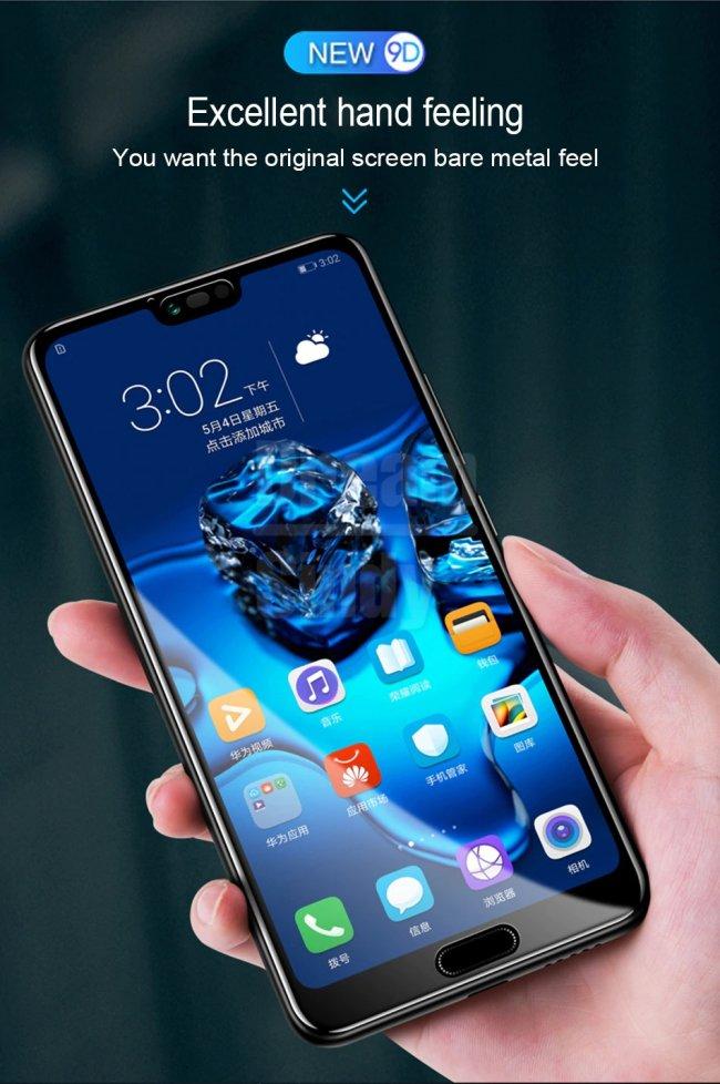 Цена на Huawei Honor 10 9D Стъклен Протектор с пълно покритие