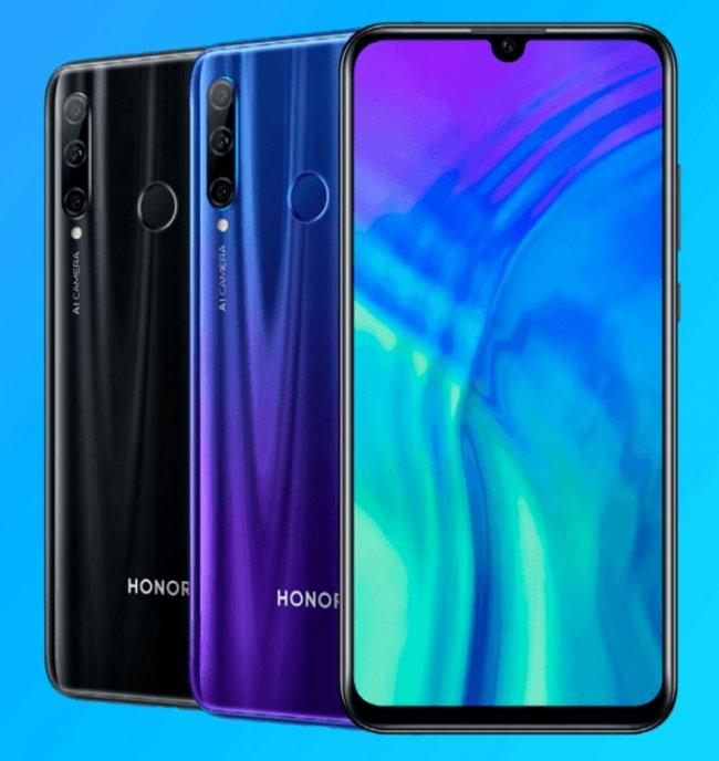 Цена на Huawei Honor 20 lite DUAL