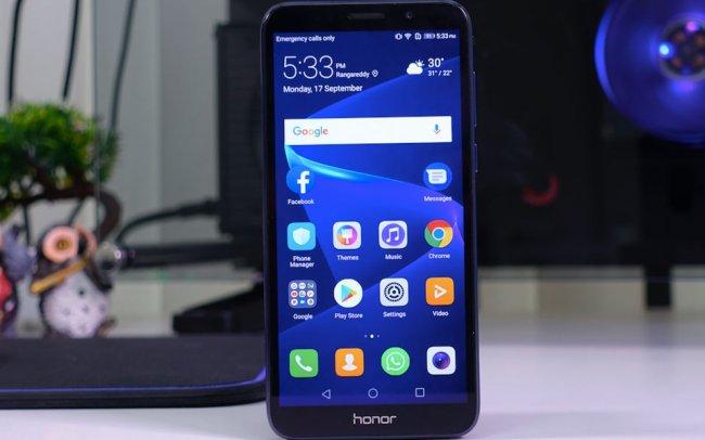 Huawei Honor 7s DUAL Снимки