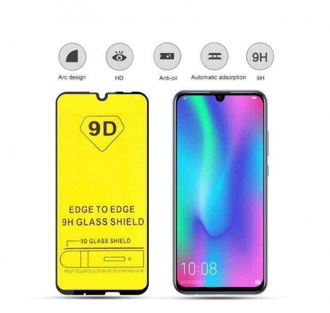 Стъклен Протектор за мобилен телефон Huawei P Smart (2019) 9D Стъклен Протектор с пълно покритие