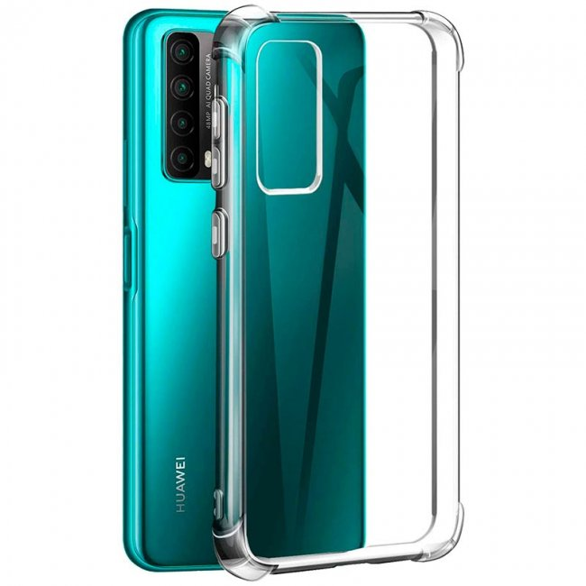 Калъф за Huawei P Smart 2021 TPU Protective Case Transparent
