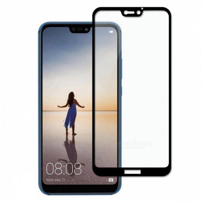 Стъклен Протектор за мобилен телефон Huawei P20 Lite Glass Protector 9D - Стъклен Протектор