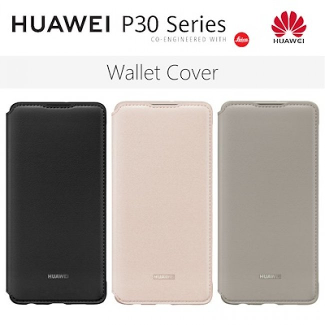 Калъф за Huawei P30 Wallet Cover