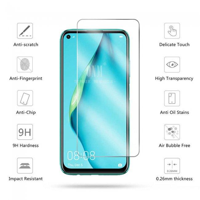 Стъклен Протектор за мобилен телефон Huawei P40 lite E прозрачен