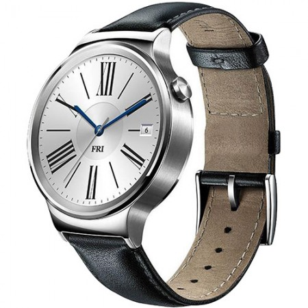 Smart Часовник Huawei Smartwatch 42mm Black Leather