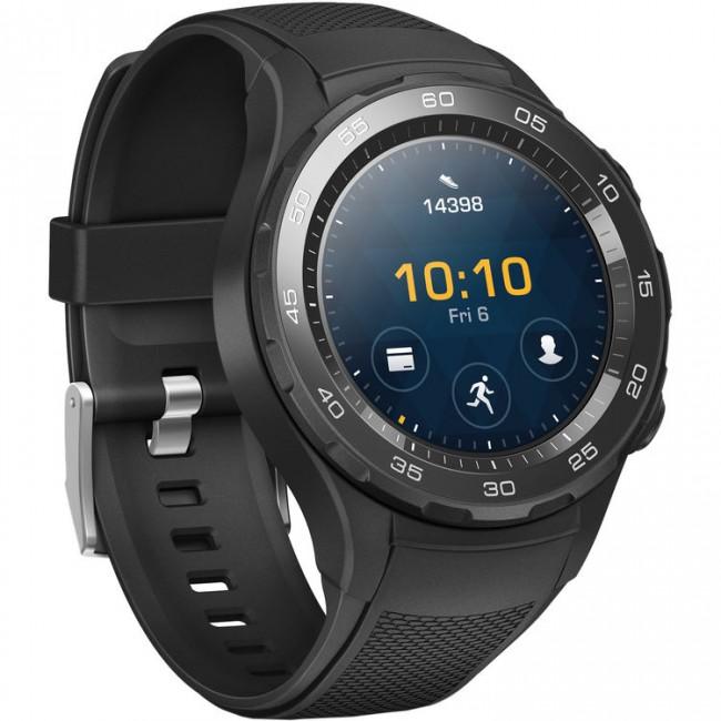 Smart Watch Huawei Watch 2 Carbon sport LEO-BX9