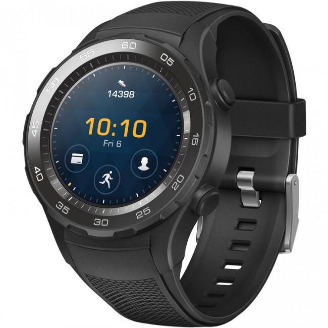 Цена Huawei Watch 2 Carbon sport LEO-BX9