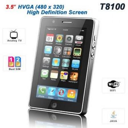 GSM iPro T8100 Dual SIM