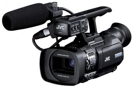 Професионална видеокамера JVC GY-HM150E