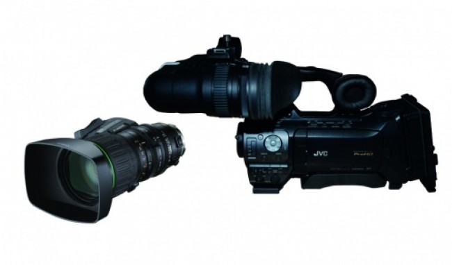 Професионална видеокамера JVC GY HM850+ KT14
