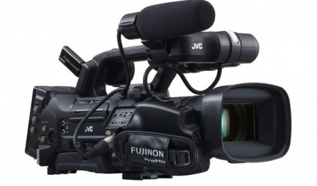 Професионална видеокамера JVC GY HM850CHE body