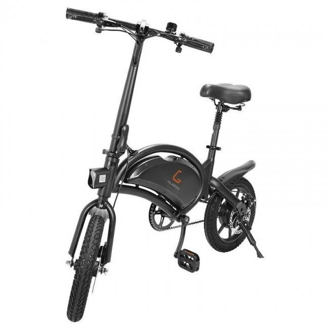 Електрически велосипед KUGOO Kirin V1 (Kirin B2) Folding Moped Electric Bike