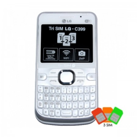 GSM LG C399 Triple SIM
