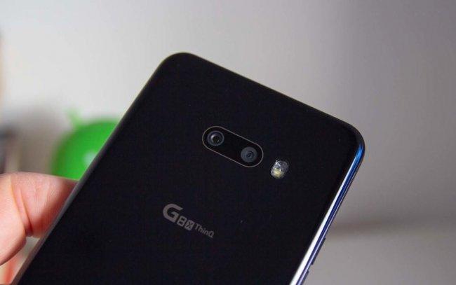 LG G8X ThinQ DUAL Снимка