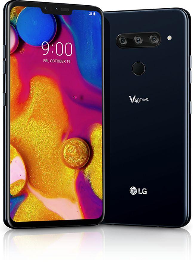 Смартфон LG V40 ThinQ DUAL V405