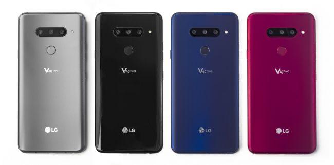 Цена на LG V40 ThinQ DUALSIM V405
