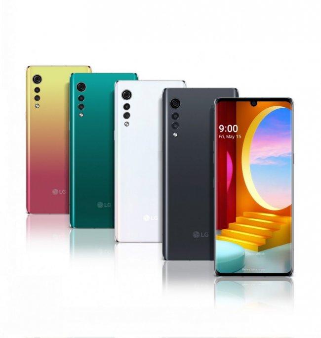 Смартфон LG Velvet G900 DUAL