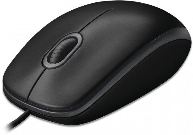 Мишка Logitech B100 оптична мишка USB, 800 dpi