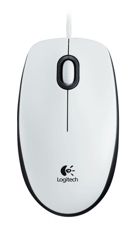 Мишка Logitech M100 White