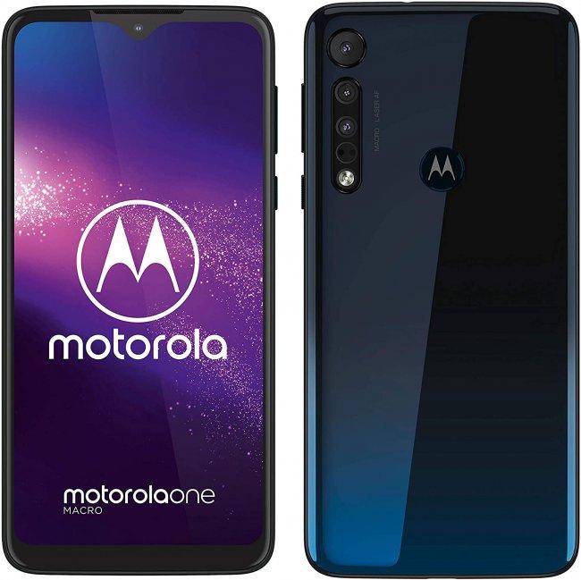 Смартфон Motorola One Macro Dual