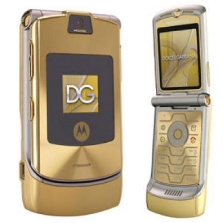 GSM втора употреба Motorola V3i D&G