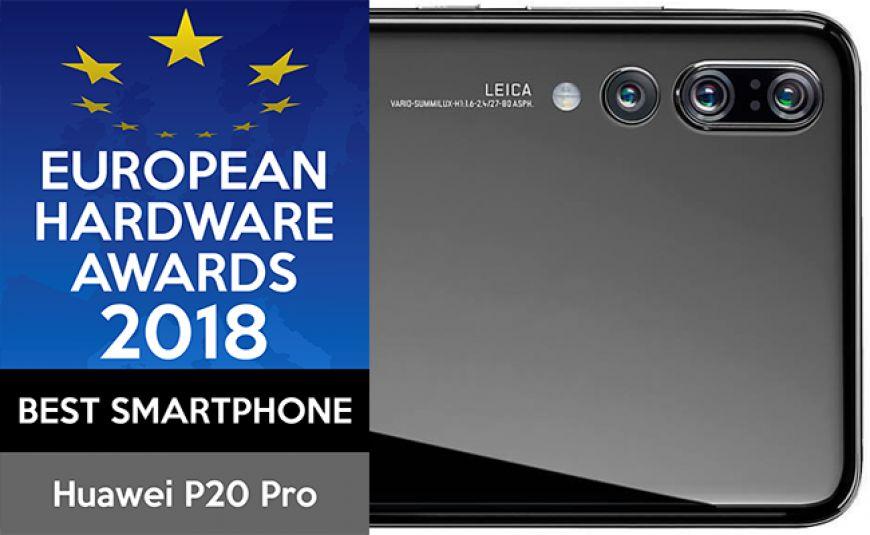 Награда за най- добър смартфон Huawei P20 Pro