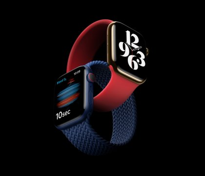 Apple Watch Series 6 в действие!