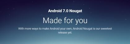 Android 7.0 Nougat е тук !