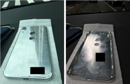 iPhone 8 все пак, със скенер на гърба