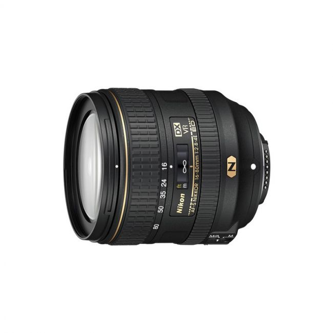 Обектив Nikon AF-S 16-80mm f/2.8-4E ED DX VR